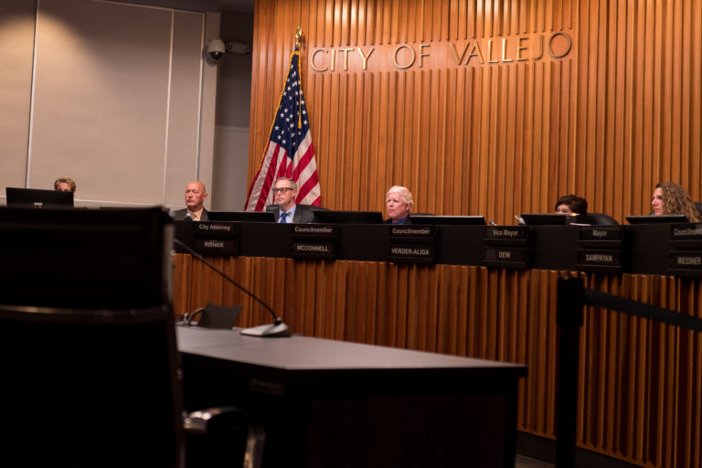 The Vallejo City Council voted 6-1 to approve a union contract limiting drug testing of officers following shootings and other serious incidents.