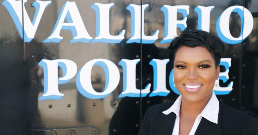A handout photograph of Vallejo Police Spokesperson Brittany K. Jackson