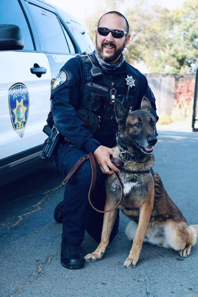 Vallejo Police Officer Mark Thompson
